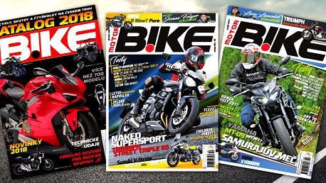 Předplatné časopisu Motorbike na celý rok 2018