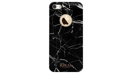 iDeal of Sweden Kryt na iPhone 5/5S/SE iDeal of Sweden Black Marble, černá barva, plast