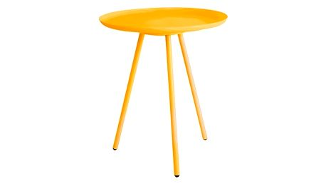 Žlutý odkládací stolek Frost