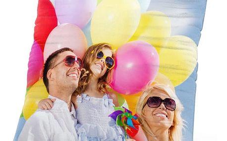 Polštářek s Vašimi fotografiemi, stylová dekorace Vašeho interiéru. Kvalitní tisk a zpracování.