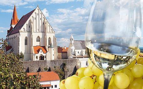 3–6denní pobyt pro 2 s konzumací vína v hotelu Weiss Lechovice na Znojemsku