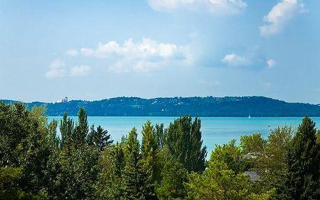 Hotel Holiday Balaton***, Rodinná dovolená s polopenzí na pobřeží Balatonu