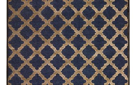 Modrý koberec Universal Soho, 60x110cm