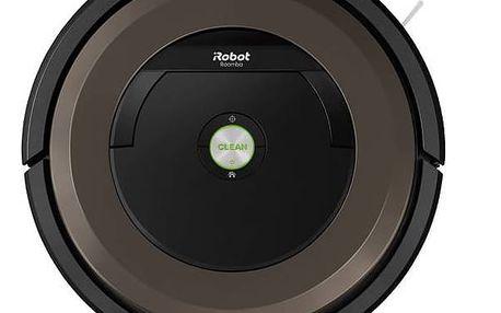 Vysavač robotický iRobot Roomba 896 černý/šedý + Doprava zdarma