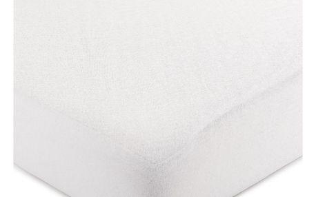 4Home jersey prostěradlo bílá, 100 x 200 cm