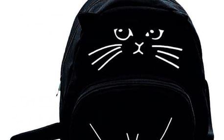 Originální batoh Cat s kočičími oušky a ocáskem