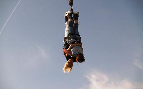 Bungee jumping až 120 metrů