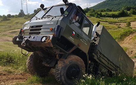 Offroad jízda Tatrou 815