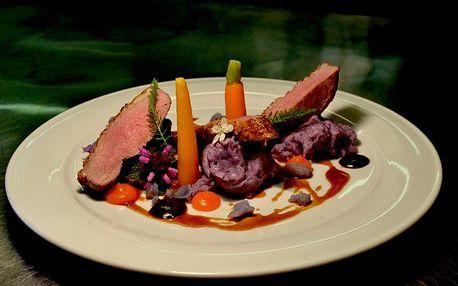 Sezónní degustační menu v restauraci Blue Wagon