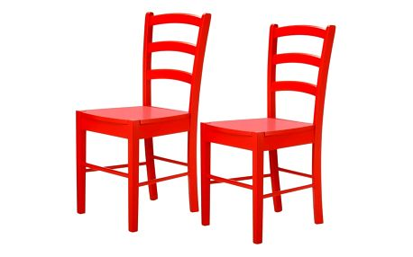 Sada 2 červených židlí Støraa Trento Quer - doprava zdarma!
