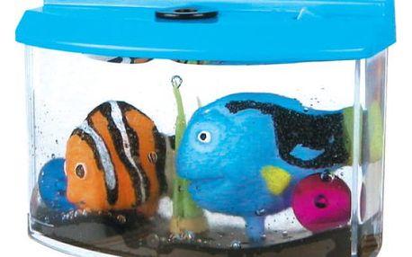 Akvárium s rostoucími rybičkami