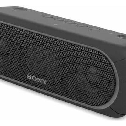Přenosný reproduktor Sony SRS-XB30B černé + Doprava zdarma