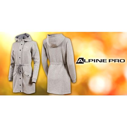 Dámský bavlněný kabát Alpine Pro