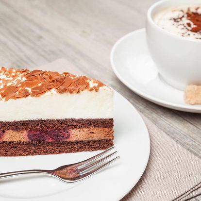 Káva a sladká tečka dle výběru pro 1 nebo 2