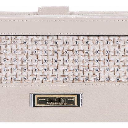Dudlin Dámská peněženka velká s organizérys krystalky v dárkové krabičce