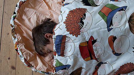 Dětský spací pytel Bartex Design Veselé obličeje, 70x180cm