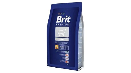 Granule Brit Premium Dog Light 3 kg