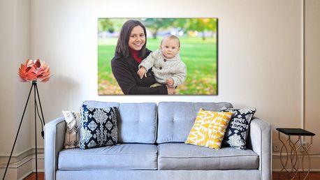 Fotoobraz s vlastní fotografií, velikosti až do 130×87, osobní odběr zdarma
