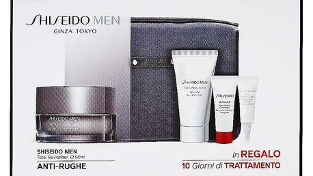 SHISEIDO MEN sada II Shiseido Men Celkový revitalizační krém 50 ml+ Shiseido Men Čisticí pěna 30 ml+ Shiseido Men Ultimate Power Infusing Concentrate 3 ml+ Shiseido Men oční revitalizer 3 ml+ Toaletní taška