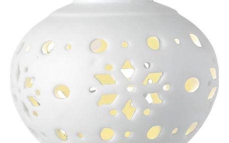 Světelná LED vánoční ozdoba Parlane Droplet Snowflake