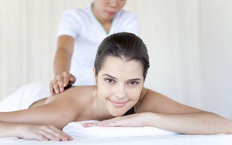 60min. masáž dle výběru od zkušených masérek