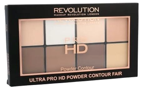 Makeup Revolution London Ultra Pro HD Powder Contour Palette 20 g pudr pro ženy Fair