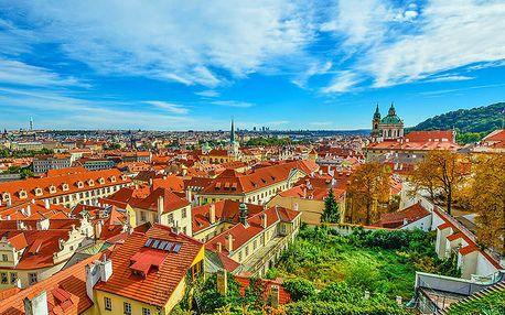 Praha ve znamení romantiky a památek v hotelu nedaleko Vyšehradu i centra města