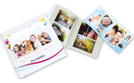 Kvalitní fotokniha s výběrem formátů