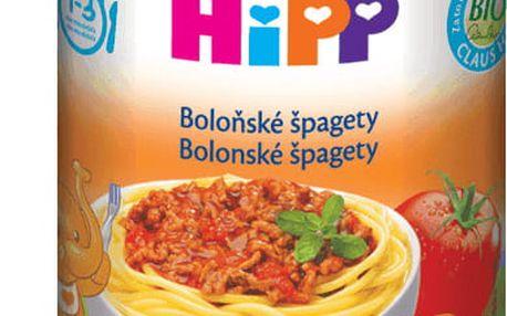 6x HIPP špagety v boloňské omáčce (250 g) - maso-zeleninový příkrm