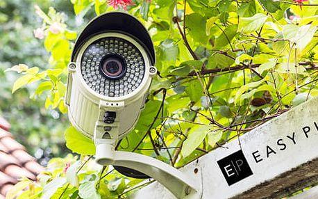 Zabezpečení domu kamerovým systémem + poštovné, montáž v ceně
