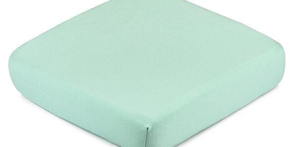 4Home Jersey prostěradlo s elastanem zelená, 160 x 200 cm3