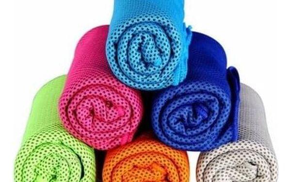 Modom Chladicí ručník růžová, 90 x 32 cm2