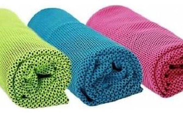 Modom Chladicí ručník růžová, 90 x 32 cm3