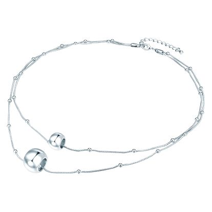 Dámský náhrdelník ve stříbrné barvě Runaway Jingle