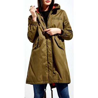 Kabát Moodo Z-KU-2407 olive