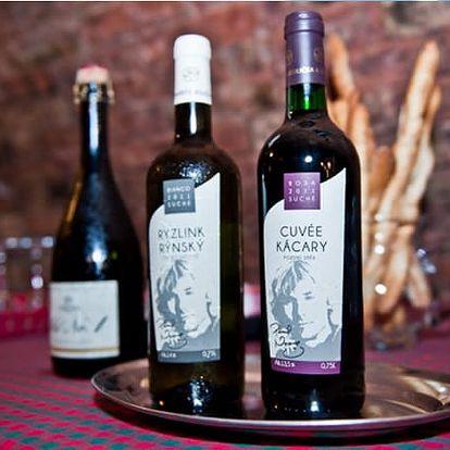 Vinařský pobyt s polopenzí pro dva na 3 dny, neomezená konzumace vína, snídaně, večeře.