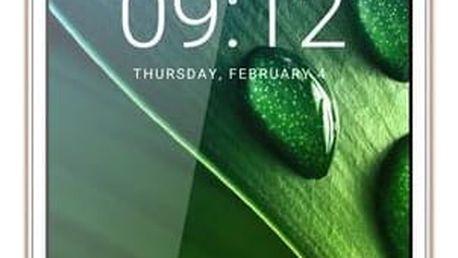 Mobilní telefon Acer Liquid Z6 LTE (HM.HWAEE.001) zlatý