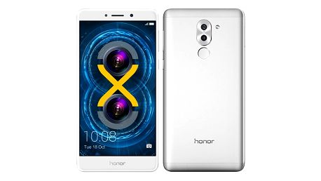 Mobilní telefon Honor 6x (51091CFF) stříbrný Software F-Secure SAFE, 3 zařízení / 6 měsíců v hodnotě 979 Kč + DOPRAVA ZDARMA