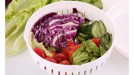 Mísa na mytí a krájení salátu