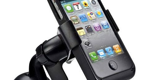 Univerzální držák na mobil v černé barvě - dodání do 2 dnů
