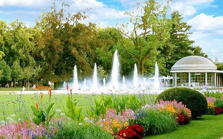 3 nebo 4denní relaxační a wellness pobyt pro 1 v Lázeňském hotelu Park**** v Poděbradech