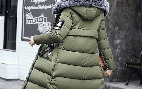 Dlouhá zimní bunda Agnes - 5 barev