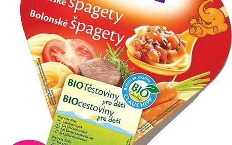 6x HIPP BIO boloňské špagety (250 g) - maso-zeleninový příkrm