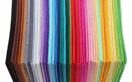 Látková dekorativní plsť - 40 kusů - dodání do 2 dnů