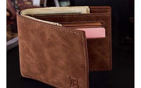 Pánská peněženka z umělé kůže - 2 barvy