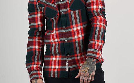 Košile Superdry REFINED LUMBERJACK SHIRT Červená
