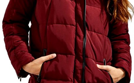 Bunda Moodo Z-KU-2414 burgundy