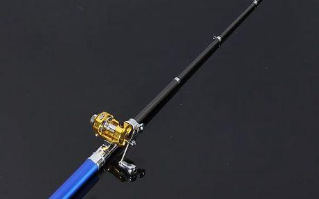 Rybářský prut s navijákem ve tvaru pera - 6 barev