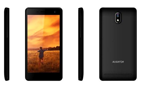 Mobilní telefon Aligator S5065 Dual SIM (AS5065BK) černý