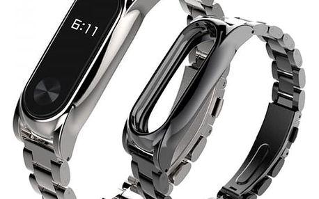Náhradní ocelový řemínek pro fitness náramek Xiaomi 2 Mi Band 2